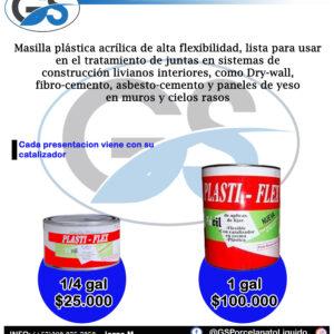 Masilla Plastiflex
