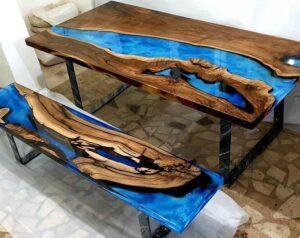 Manual técnico de resina epoxica en madera